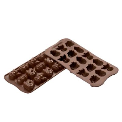 Csokoládéforma Téli 33x27 mm
