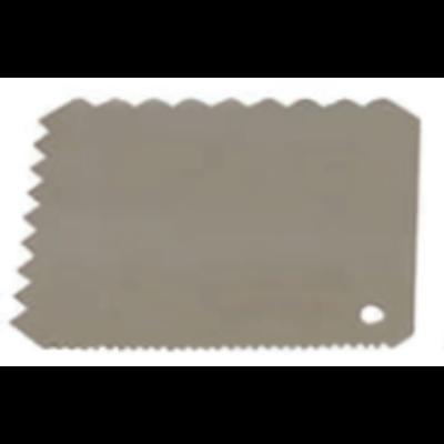 Spatula 40 cm, kanálforma, szilikon