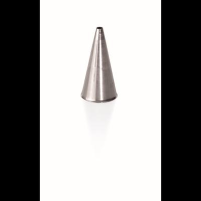 Habcső 06 mm, rozsdamentes