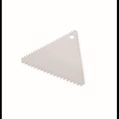 Habkártya háromszög 11x9cm fogazott rm