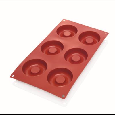 Sütőforma 6/7,2x2,3 cm,szilikon, Savarin