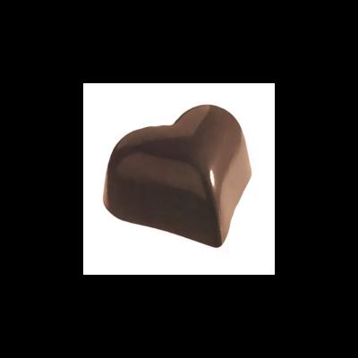 Bonbon forma szív alakú; 27,5x13,5 cm; 21 db x 6 gr