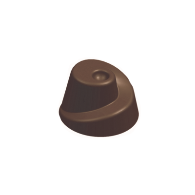 Bonbon forma, fantázia, 27,5x13,5 cm, 21 db / 9 gr