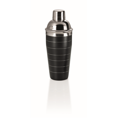 Shaker 0,7 l, poszórt fekete, CNS