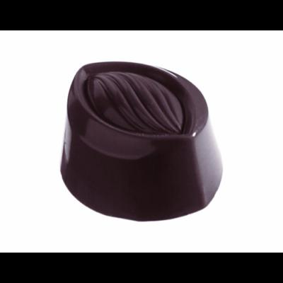 Csokoládéforma 37x31x20 mm, oval