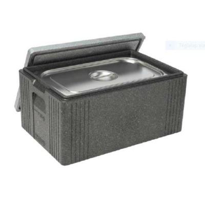 Basta-Box XL GN 1/1, fekete+szürke tető