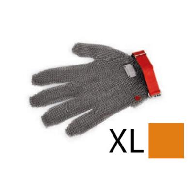 Lánckesztyű narancs XL
