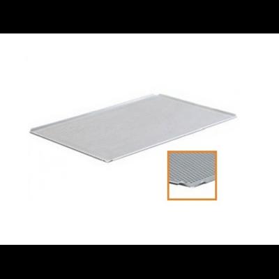 Sütőlemez perforált 400/600/20 mm alu 3 x 90 ° 1x45 °